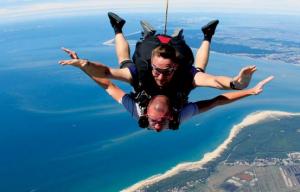 Activités autour du domaine - Saut en parachute