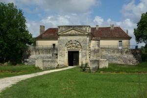 Prise de vue du Fort Médoc